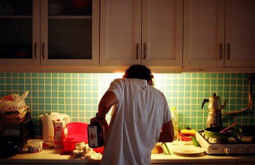 hızlı kilo vermek için mutfaga girin