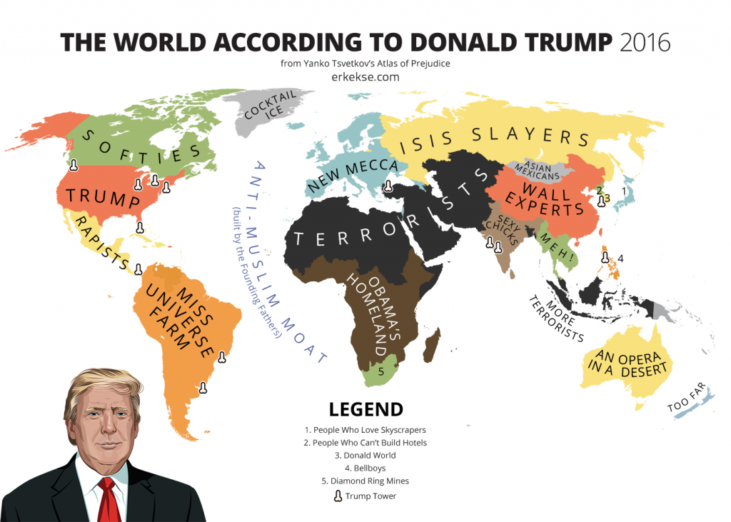 the world according to donald trump 2016