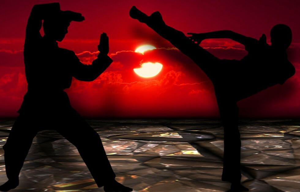 erkek hobisi kick boks