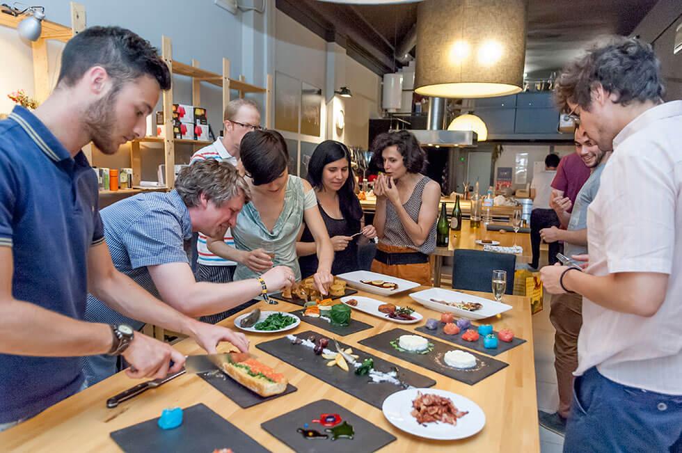 erkekler için hobi yemek workshop