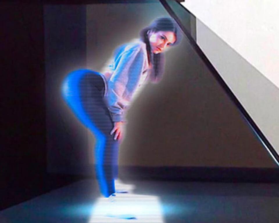 hologram porno