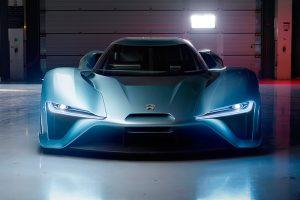 en hızlı elektrikli araba nio ep9