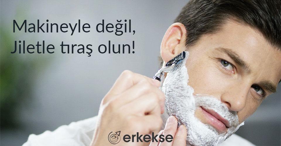 erkek cilt bakımı jilet ile tıraş