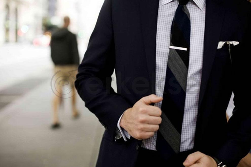 erkek gömlek kravat uyumu